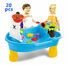Pirate Corsair Sand and Water Activity Play Table beach toys with water wheel