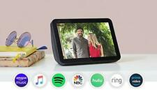 Echo Show 8 - HD smart display with Alexa - stay connected with video calling