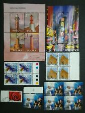 Nice Collection Of Polska Mini Sheet X 2 & Block Of 4 X 3 - Used