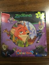 Zootopia My First Puzzle Book - 5 Puzzles - Disney - Sealed New