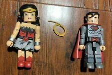 DC Universe MiniMates Wave 8 Superman and WonderWoman (Red Son Versions)