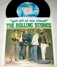 THE ROLLING STONES - GET OFF MY CLOUD / I'M FREE W/ PIC SLV - LONDON 1ST PRESS
