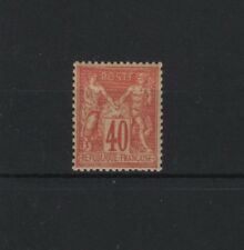 "FRANCE STAMP TIMBRE 70 "" SAGE 40c ROUGE-ORANGE TYPE I "" NEUF xx  TTB   R505"