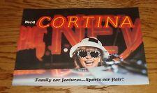 Original 1967 Ford Cortina Sales Brochure 67