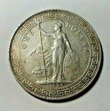 1898 China Britain Silver Trade Dollar XF/AU