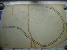 ROMA Mappa Catastale 280 VIA MONTE NEVOSO VIALE CIMONE GOTTARDO TOMATICO 1943
