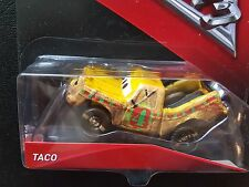 DISNEY PIXAR CARS 3 TACO CRAZY EIGHT 2017 SAVE 5% WORLDWIDE FAST SHIP