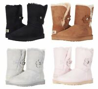 Authentic UGG Women's Bailey Button Flower Poppy Boots Shoes Many Colors