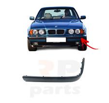 FOR BMW 5 SERIES E34 1988 - 1996 NEW FRONT BUMPER MOLDING TRIM BLACK LEFT N/S
