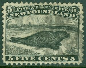 EDW1949SELL : NEWFOUNDLAND 1868 Sc #26 Very Fine Used Clean, nice stamp Cat