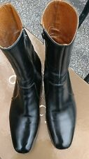 1960's SAMMY DAVIS  JR. VTG CHURCH'S OF ENGLAND MENS CHELSEA BOOTS  8 C BLACK