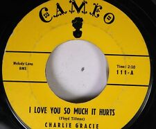 50'S & 60'S 45 Charlie Gracie - I Love You So Much It Hurts / Wanderin' Eyes On