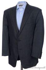 GIEVES & HAWKES Savile Row Gray Check 100% Wool Blazer Sport Coat Jacket - 42 L