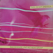 """Vinyle 45T David Bowie / Pat Metheny Group """"This is not America"""""""