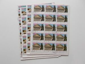 Yemen - Munich Olympic City 1972. 15 complete sheets & some blocks CTO / used.