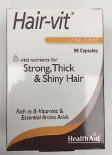 HAIR-VIT VITAL NUTRIENTS FOR STRONG THICK & SHINY HAIR 90 capsules. New