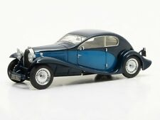 Matrice Bugatti Type 46 SUPER profili COUPE 1930 BLU 1:43 mx40205-012