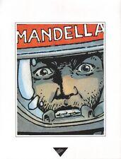 Affiche MARVANO MARCHAND 1993 Dupuis Extrait de La guerre éternelle  23x30