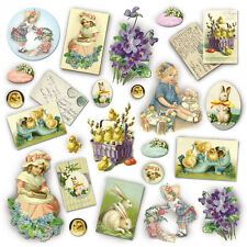 Ricepaper/ Decoupage paper, Scrapbooking Sheets /Craft Paper Vintage Easter