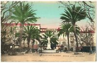 CPA 06 Alpes-Maritimes Cannes Place des Palmiers statue Lord Brougham