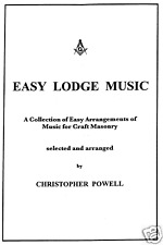 Easy Lodge Music by Christopher Powell - A5 Size