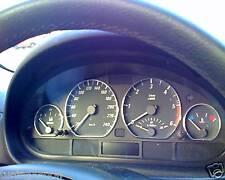 4 CERCLAGE ANNEAUX DE COMPTEUR CHROME BMW SERIE 3 E46 320D 330D 320 330 D 318