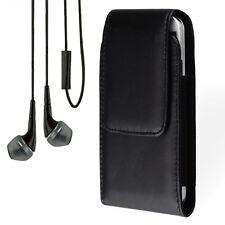 Black Holster Belt Clip Case for Nokia lumia 1020 925 920 900 928 635 + Earphone