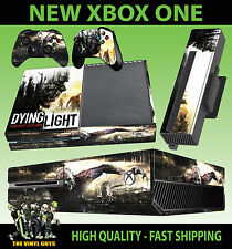 XBOX ONE CONSOLE STICKER DYING LIGHT ZOMBIE SURVIVAL HORROR SKIN + PAD SKINS