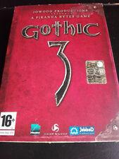 GOTHIC 3 GIOCO PC COMPLETO CARTONATO DISCO COME NUOVO
