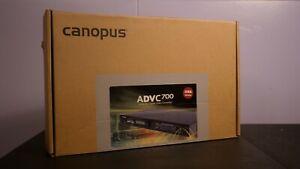 Canopus ADVC-700 Advanced Digital Video Converter (Mint, IOB, Manual + Cables)