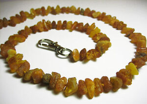 Natural Raw Baltic Amber Collar  For Dog and Cat  7.9-27.5 inches, 20-70cm