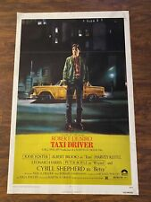 1976 Taxi Driver Movie Poster One Sheet No Reserve