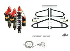 Alba +2 Extended A-Arms Elka Legacy Front Rear Shocks Suspension Kit Raptor 700