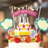 décoration cupcake toppers baby shower joyeux anniversaire gâteau les drapeaux