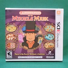 Professor Layton and the Miracle Mask (Nintendo 3DS, 2012) *Factory Sealed*