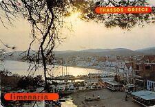 Greece Thassos Limenaria port harbour, Island, Ile, greko ostrvo 1983