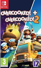 Overcooked! + Overcooked! 2 | Nintendo Switch New