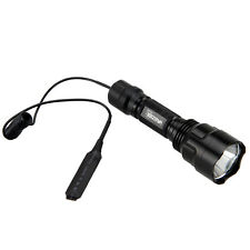 5000LM Green LED Tactical Flashlight Torch Hunting Lamp 1mode+Remote Switch New