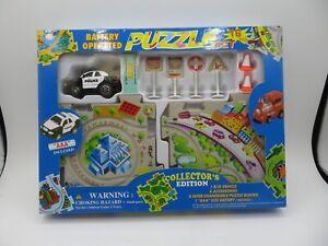 Puzzle Car Set Police Car - 16 piece set