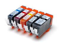 10 Ink Cartridge PGI-525BK CLI-526 B/C/M for CANON iP4900 Colour Inkjet Printer