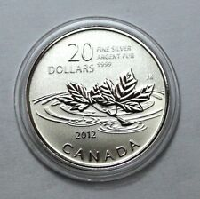 SCARCE 2012 CANADA $20 SILVER  FAREWELL TO THE PENNY Commemorative Coin!