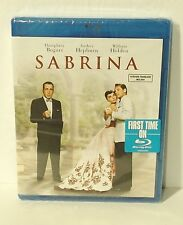 Sabrina (Blu-ray Disc, 2014) NEW Audrey Hepburn Humphrey Bogart William Holden
