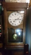 More details for antique gledhill brook fusee clock,