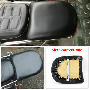 Motorcycle Rear Rack Cushion Pad Riding Bicycle Assenger Seat Cover Convenient