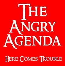 THE ANGRY AGENDA Here Comes Trouble NEW LP Splatter Vinyl Punk Oi! Longshot