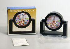 Macys Macys Thanksgiving Day Parade Santa Claus / Christmas Float Swivel Clock