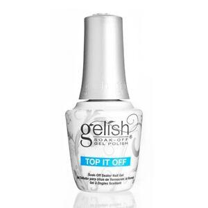 Gelish Harmony Top Coat Top It Off 0.5 oz/ 15 mL New bottle - Brand new.