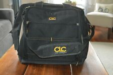 CLC Custom Leather Craft Canvas Tool bag with shoulder strap