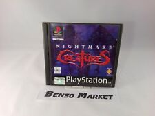 NIGHTMARE CREATURES PLAYSTATION 1 2 3 ONE PS1 PS2 PS3 PAL EUR ITALIANO COMPLETO