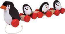 Ziehspielzeug Pinguinfamilie, Nachziehtiere, Pinguine